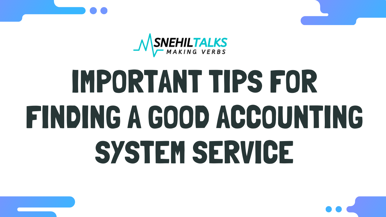 accounting software finding tips